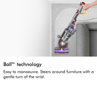 Dyson Ball Technology Easy to manoeuvre Steers around furniture with a gentle turn of the wrist