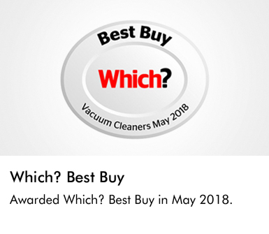 Dyson Which? Best Buy awarded Which? Best Buy in May 2018