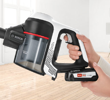 Bosch Vacuum Extended Runtime