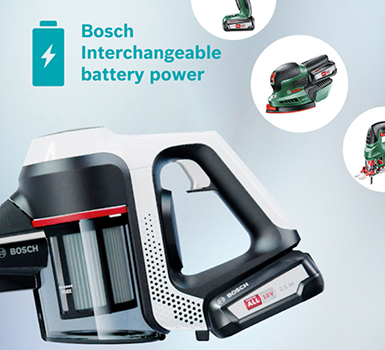 Bosch Vacuum Power For All