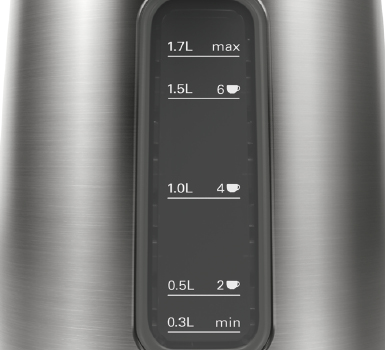 Bosch Kettle Anthracite Water Scale