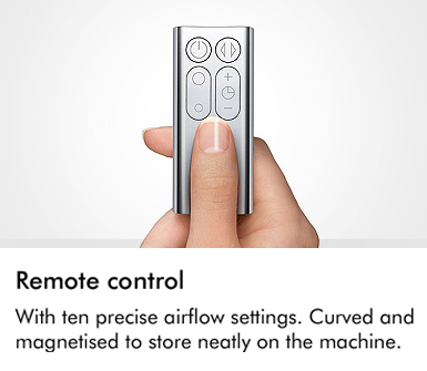 With ten precise airflow settings curved and magnetised to store neatly on the machine