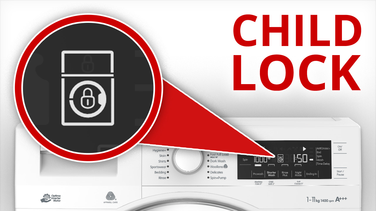 Blomberg Child Lock Feature