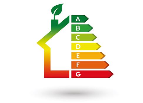 New Energy Label Energy House
