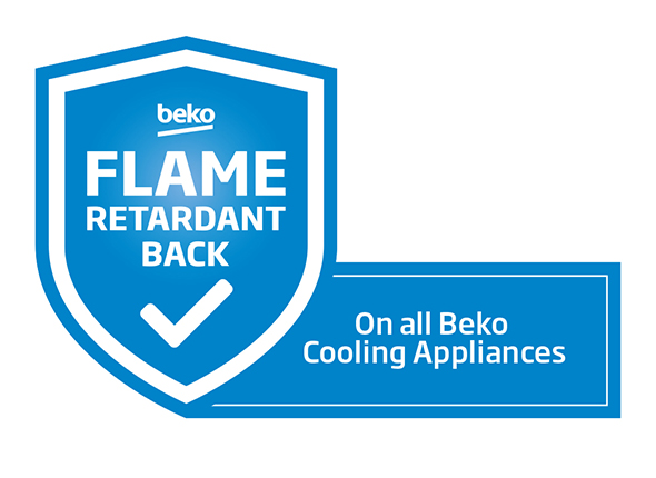 Beko Flame Retardant Back