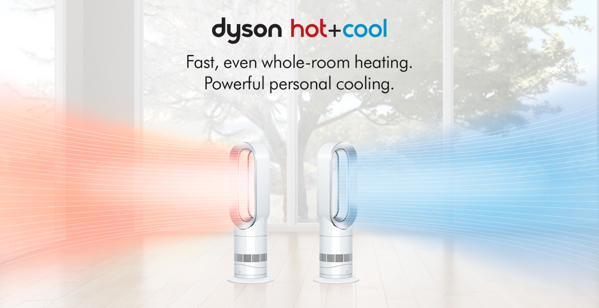 Fast even whole room heating Powerful personal cooling