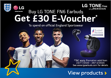 LG E-Voucher with Earbuds Promotion