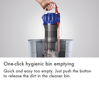 Dyson Small Ball Allergy Hygienic Bin Emptying