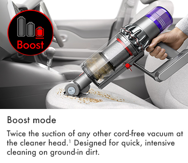 Dyson V11 Torque Drive Boost Mode