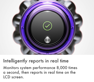 Dyson V11 Torque Drive Intelligently Reports