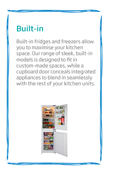 Beko Built-In Fridge Freezer