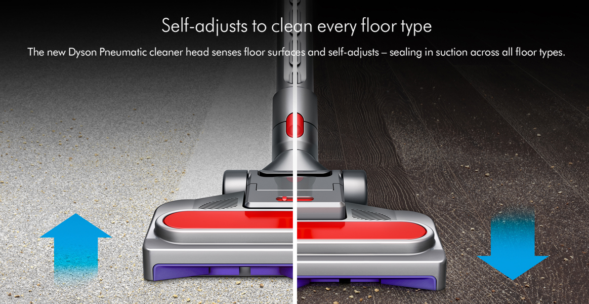 Dyson Big Animal 2 Self Adjusts to Clean Every Floor