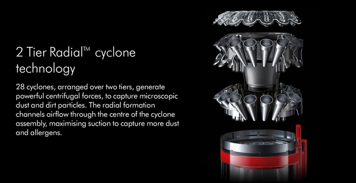 Dyson Big Ball Animal 2 Tier Radial Cyclone
