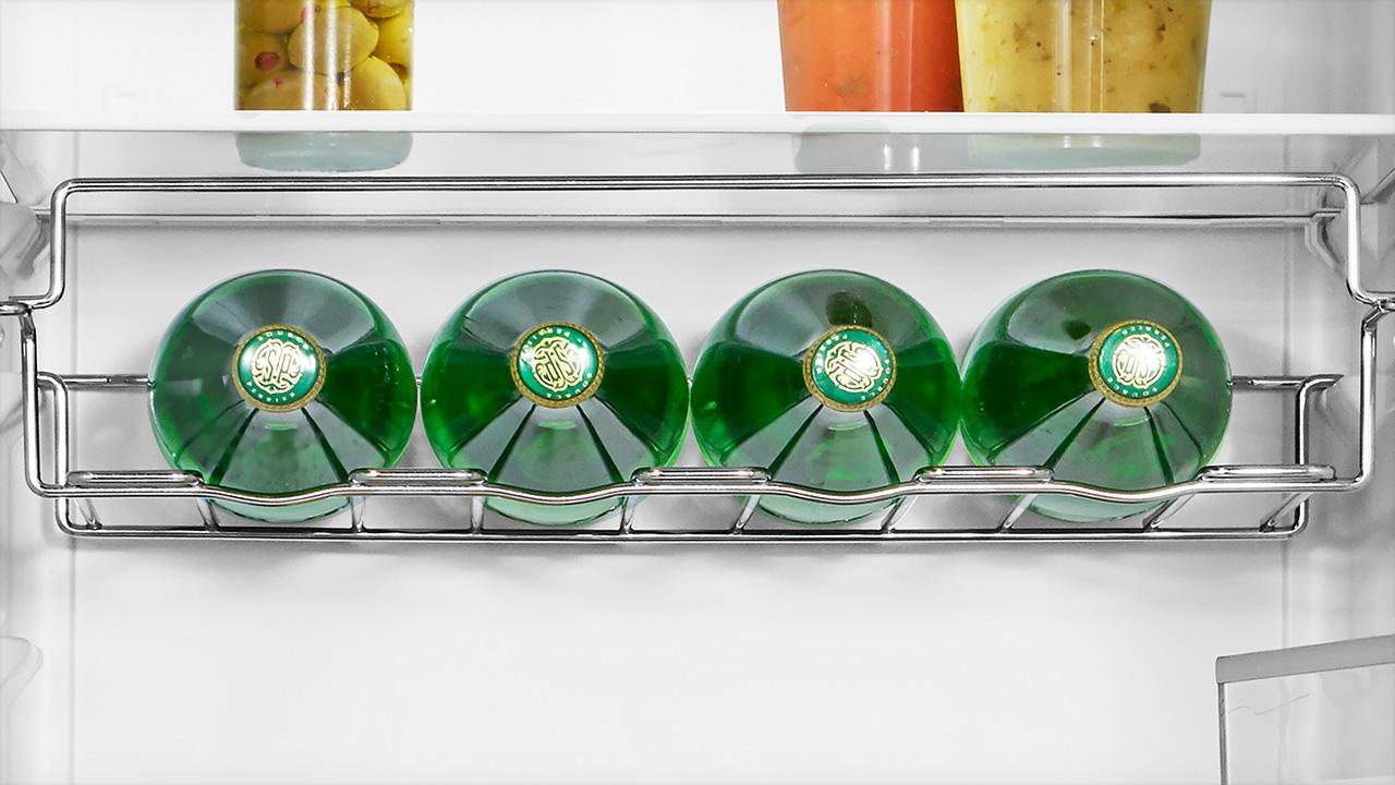 Chrome Wire Wine Rack (4 bottle holders)