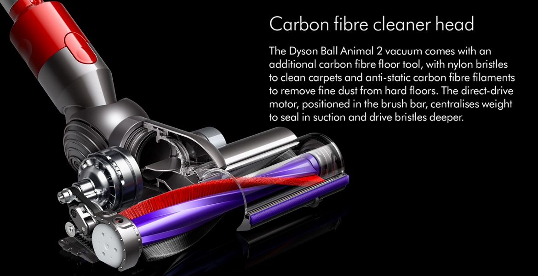 Dyson Ball Animal 2 Carbon Fibre Cleaner Head
