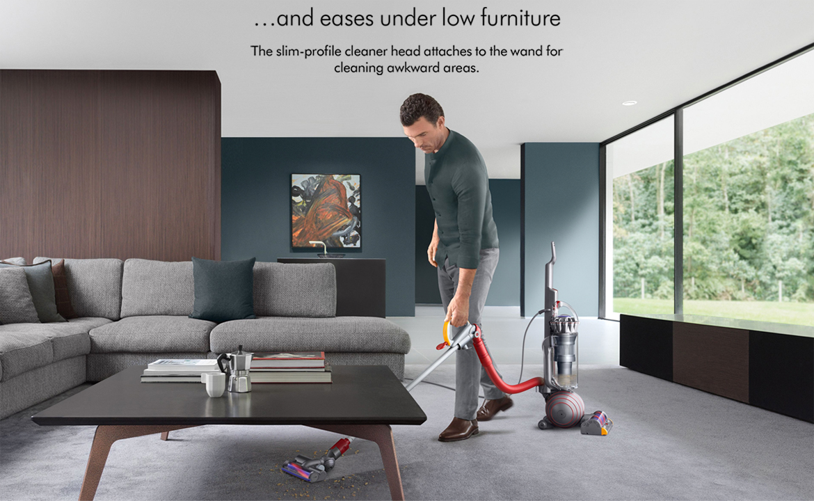 Dyson Ball Animal 2 Cleaning Awkward Areas