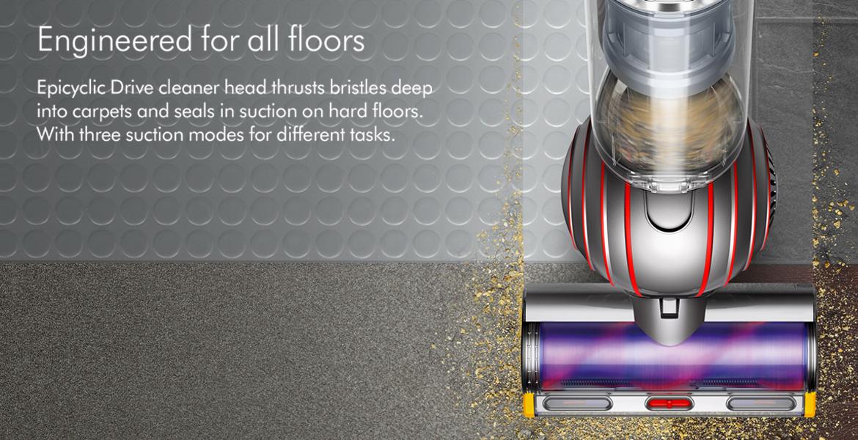 Dyson Ball Animal 2 Cleaner Head on Hard Floors