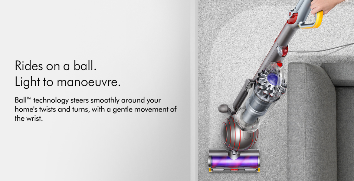 Dyson Ball Animal 2 Steers Smoothly Around Home Twists and Turns