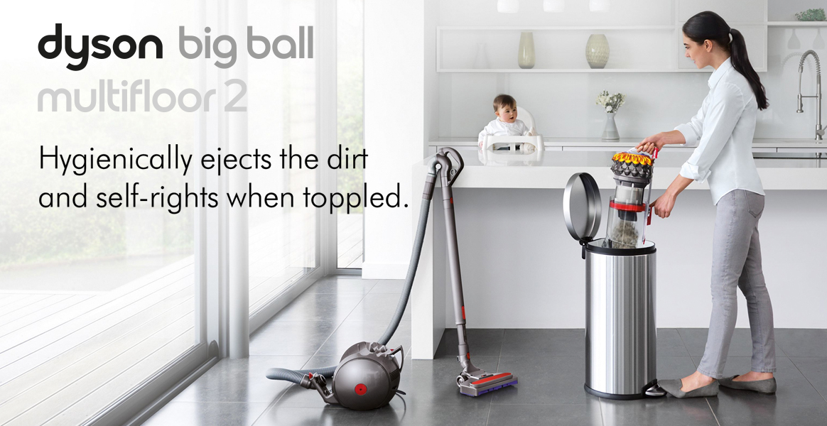Dyson Ball Multi Floor+ Cylinder Vacuum Cleaner