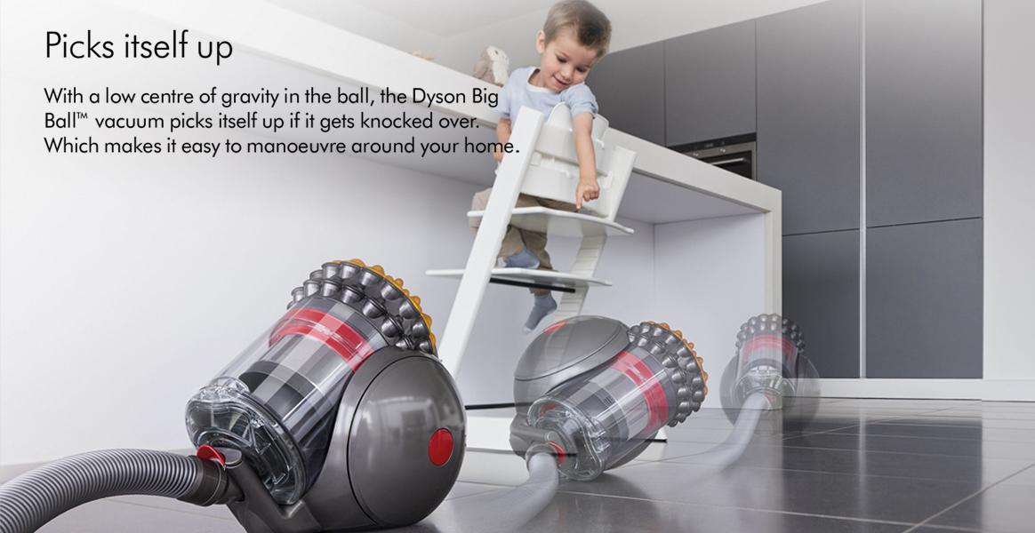 Dyson Ball Multifloor+ Picks Itself up