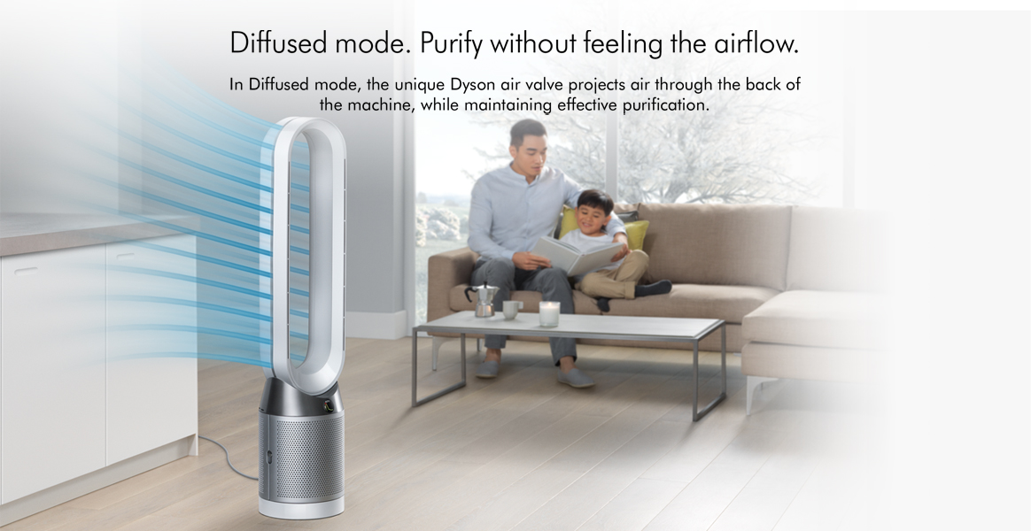 Dyson TP04 Pure Cool Advanced Technology Diffused Mode