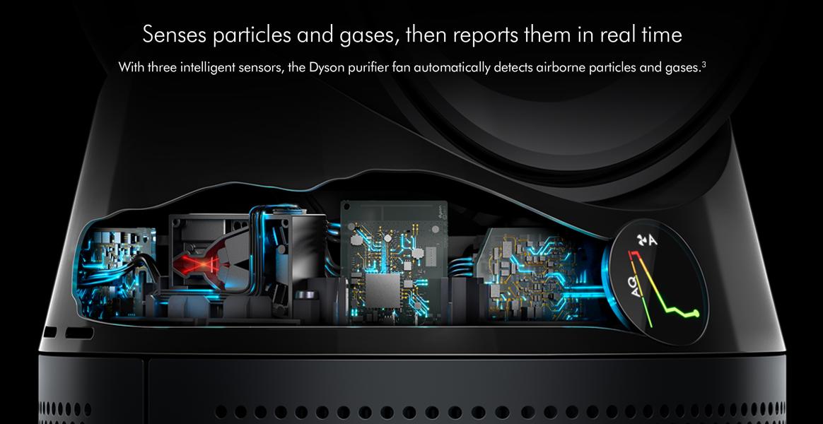Dyson TP04 Pure Cool Advanced Technology Intelligent Sensors