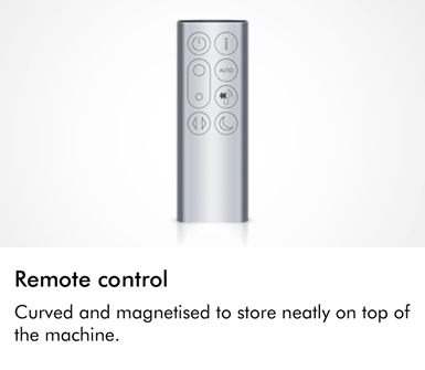 Dyson TP04 Pure Cool Advanced Technology Remote Control