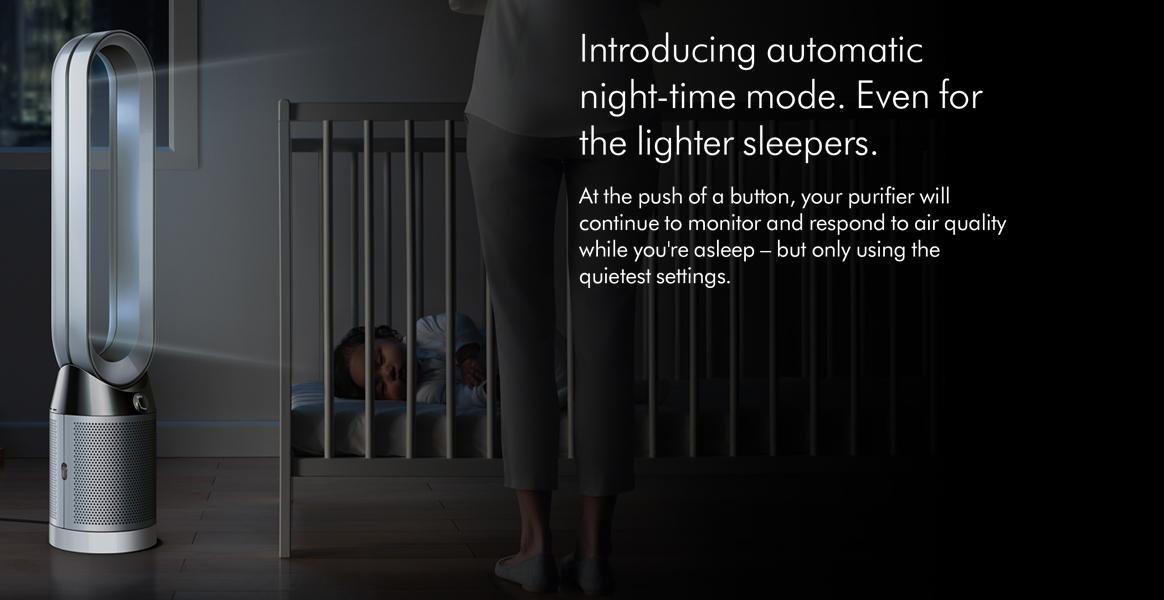 Dyson TP04 Pure Cool Advanced Technology Sleep Mode