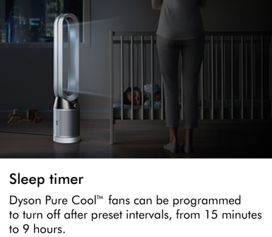 Dyson TP04 Pure Cool Advanced Technology Sleep Timer