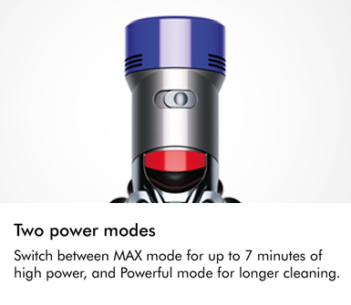 Dyson V8 Animal Two Power Modes