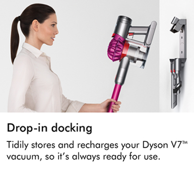 Dyson V7 Motorhead Drop In Docking