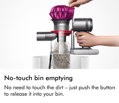 Dyson V7 Motorhead No Touch Emptying