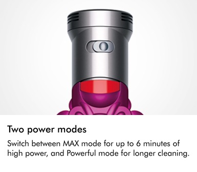 Dyson V7 Motorhead Two Power Modes