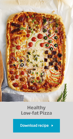 Healthy Low-Fat Pizza