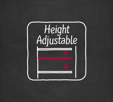 NEFF Height Adjustable Feature