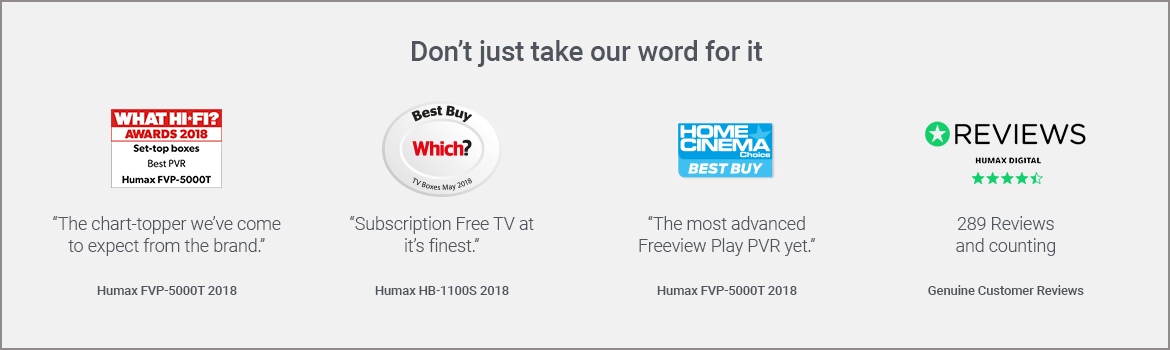Humax Freesat, Freeview & YouView Set-Top Boxes | euronics