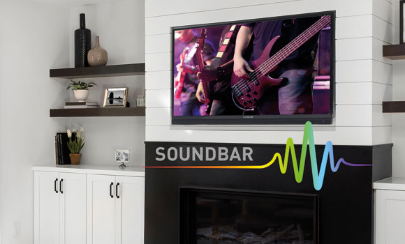Linsar TV and Soundbar