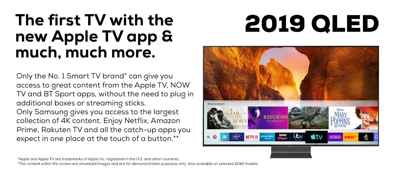 Samsung QLED Apple TV App